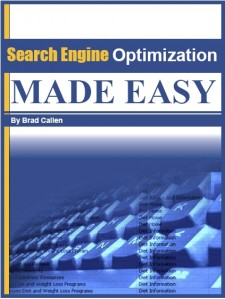 Search Engine Optimization Made Easy by Brad Callen